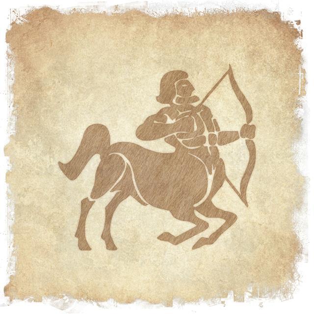 Horoscope zodiac sign Sagittarius