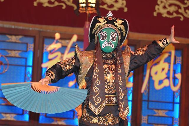 Taiwanese opera performer