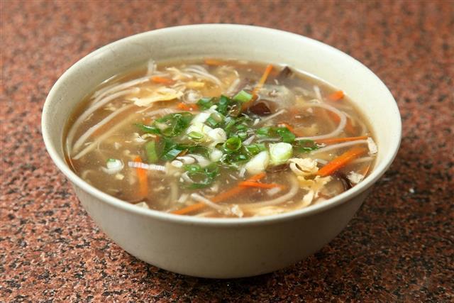 Taiwanese soup