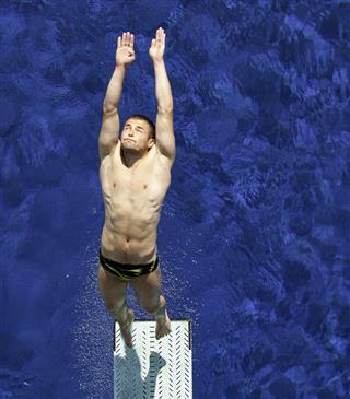 Springboard diving moment