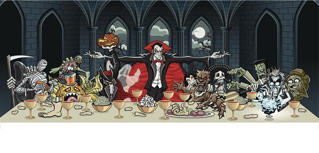 Count Dracula Halloween