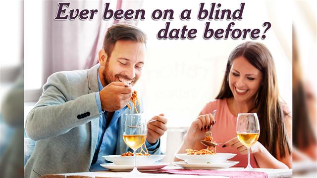 Happy Couple Eating Spaghetti