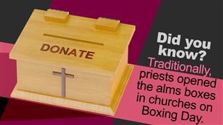 Church Donation Box