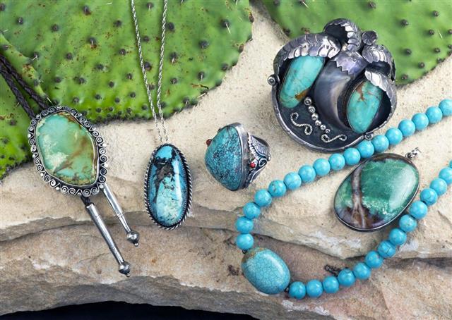 Raw Mineral Jewelry