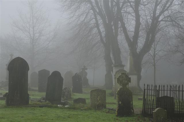 Foggy Graveyard Jersey