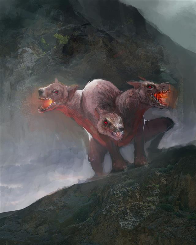 Cerberus hound of hades