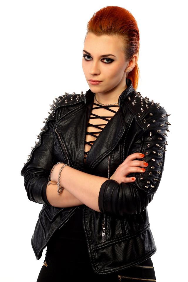 Punk Style Girl Portrait