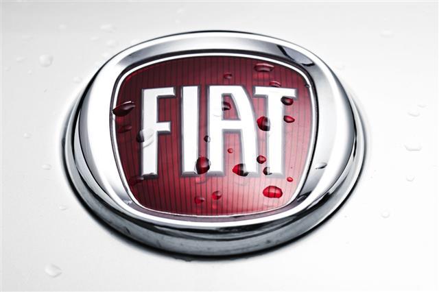 Wet Fiat Emblem