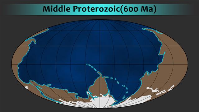 middle proterozoic