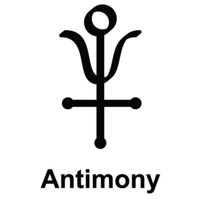 Alchemy Antimony Symbol