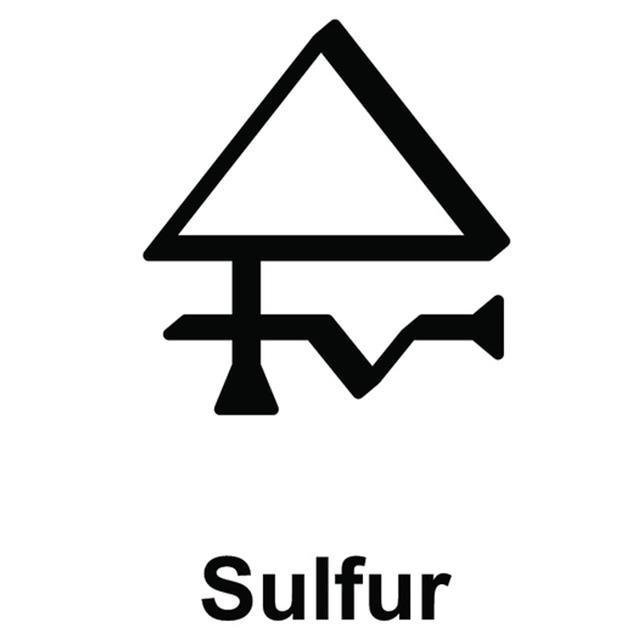 Alchemy Sulfur Symbol