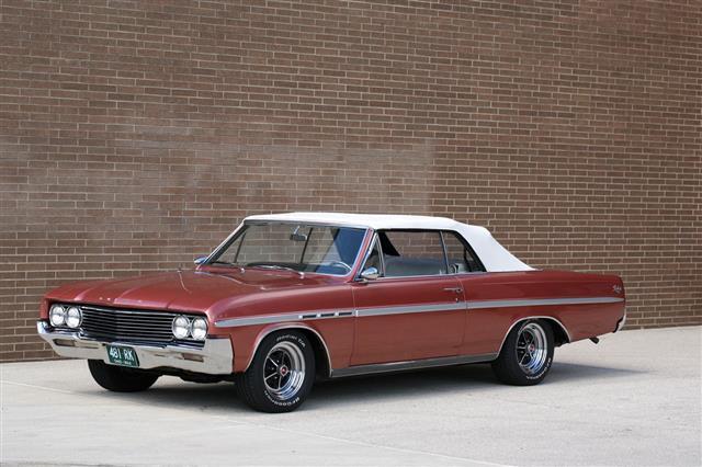 Brown Buick Skylark Convertible