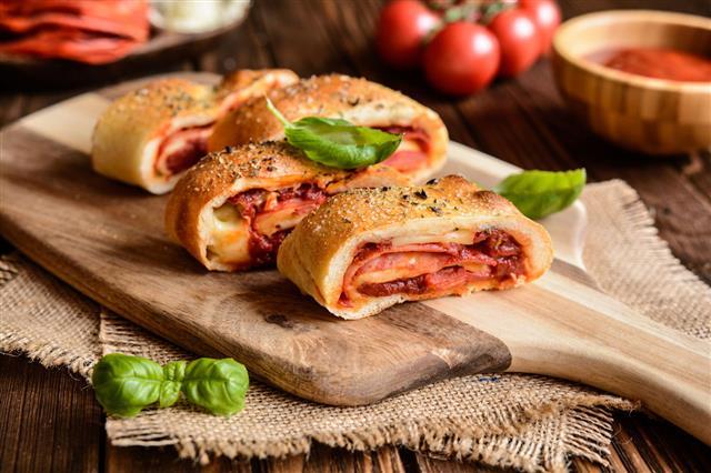 Stuffed Stromboli