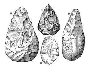 Stone Age Flint Tools