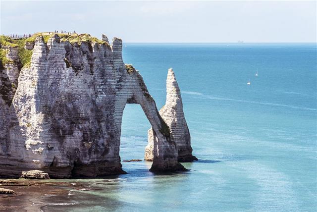 Etretat Normandia Francia