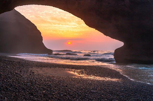 Sunset Agadir Marocco
