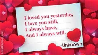 A cute love message for your boyfriend