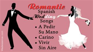 Spanish wedding songs