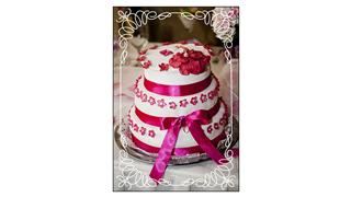Two-Tone Cake