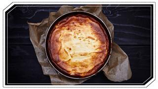 Freshly Baked Cheesecake