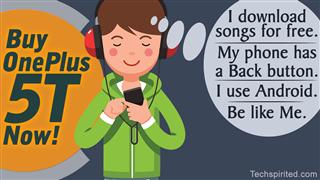 Teen Boy In Headphones Listening To Music On Phone