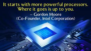 Computer Chip Cpu Concept