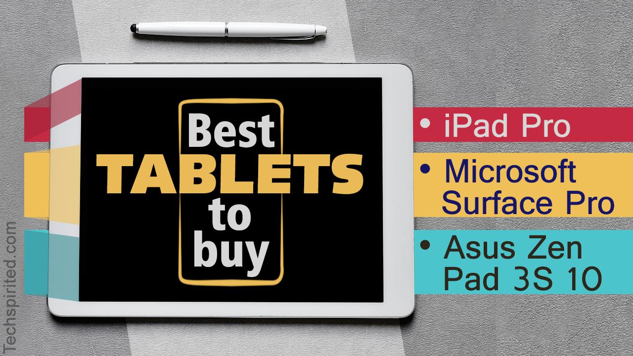 Tablet PC Comparison 2017
