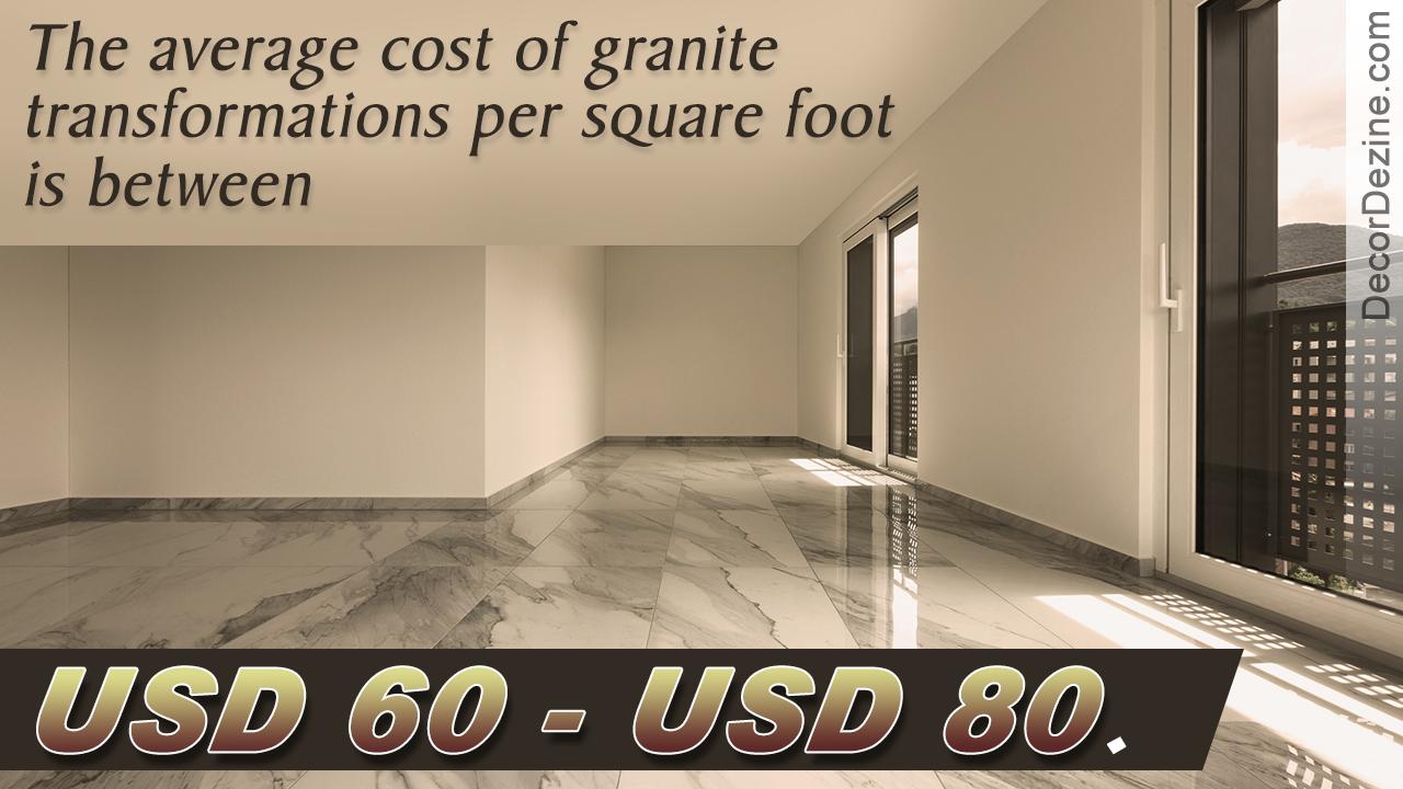 Granite Transformations Cost