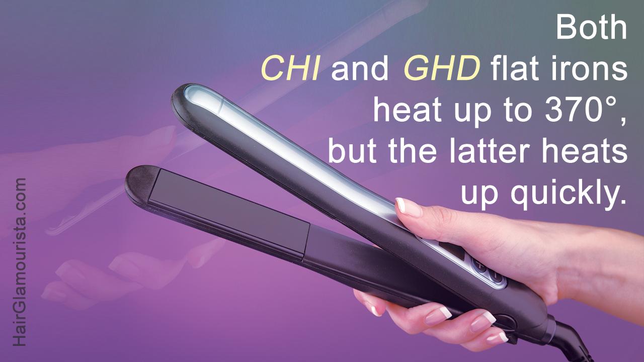 CHI Vs. GHD Flat Iron