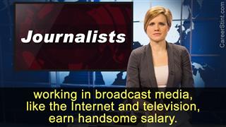 Journalist salary range