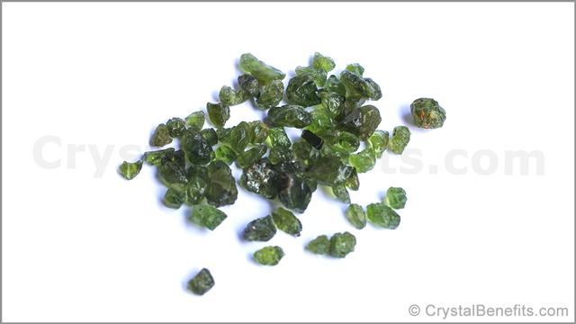 Peridot precious gems