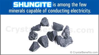Shungite crystals