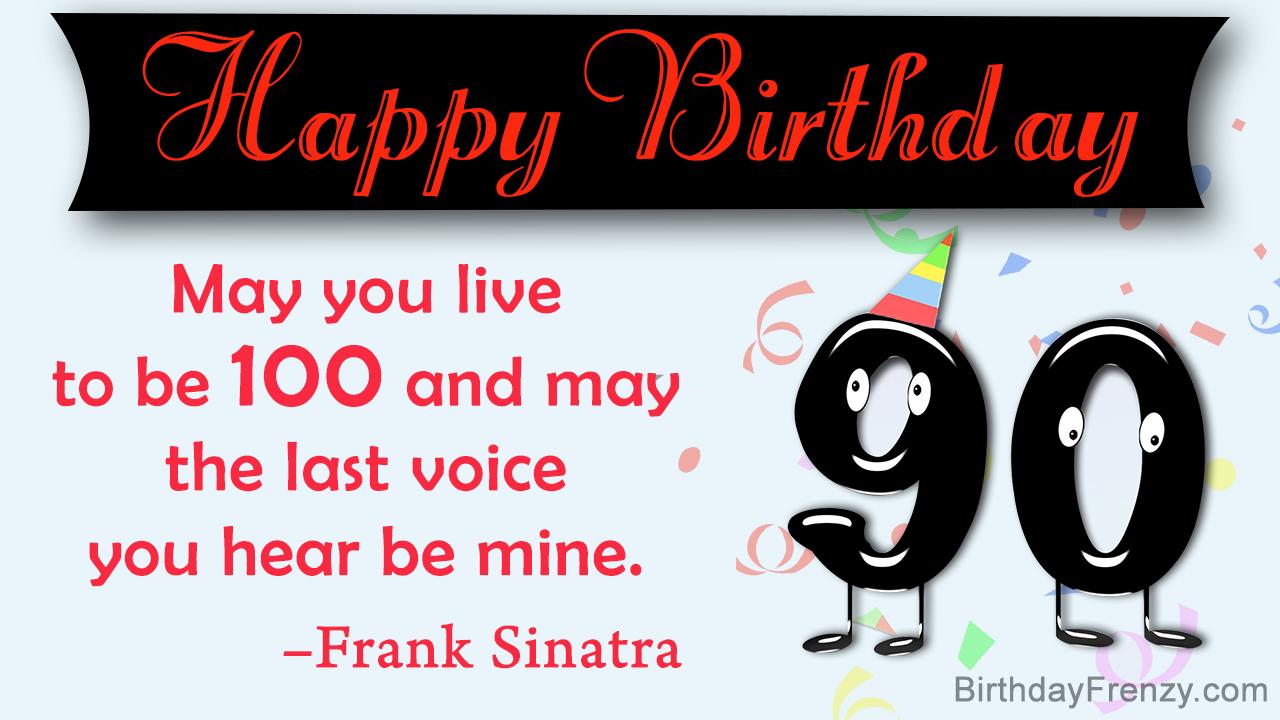 90th Birthday Quotes