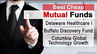 Best cheap mutual funds