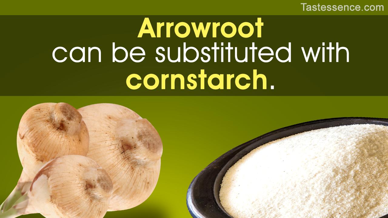 Arrowroot Substitute