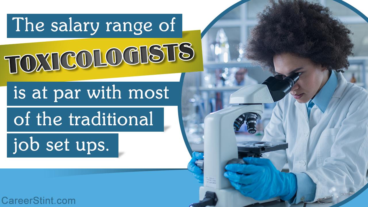 Toxicologist Salary