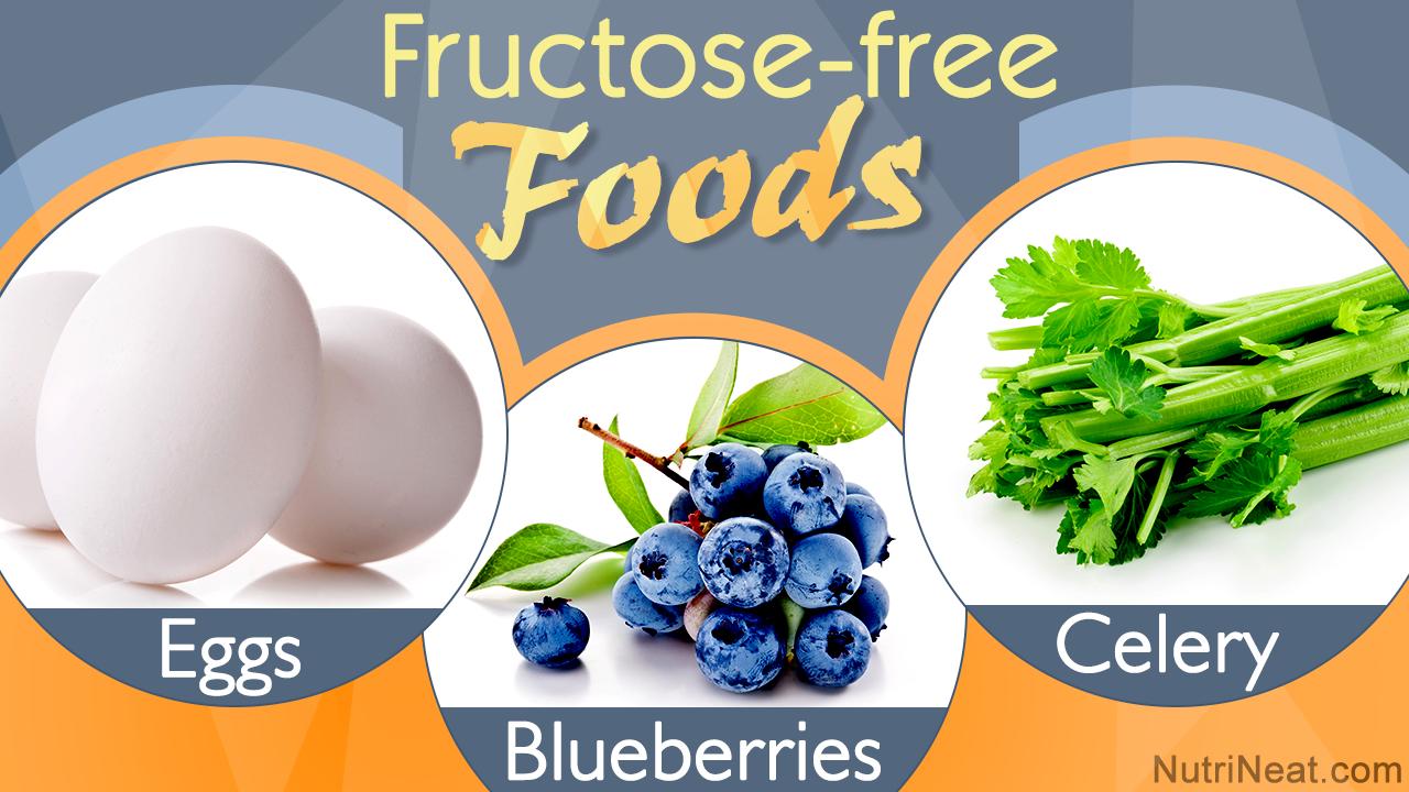 Fructose-free Food List