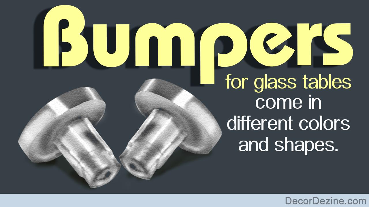 Rubber Bumpers For Glass Tables Decor Dezine