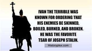 Black Ivan The Terrible Monument
