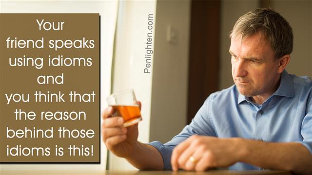 Alcoholic man image