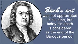 German Composer Johann Sebastian Bach 1858