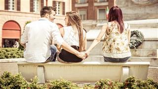 Man Cheating On Her Girlfriend