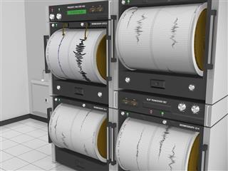 Seismograph Machine Room Angle View???