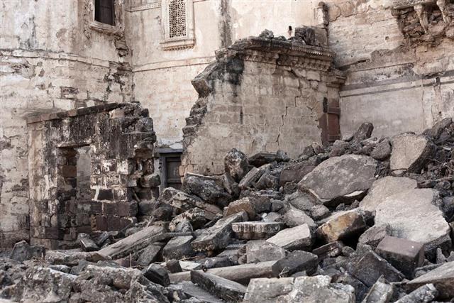Earthquake Damage From Bhuj, India