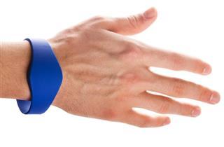 RFID Bracelet on Hand