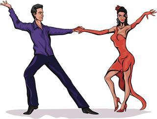Brazilian Samba dance style