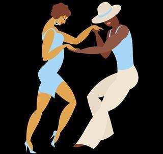 Cha Cha Cha dance style