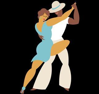 Rumba dance style