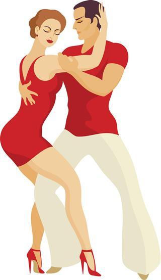 Mambo dance style