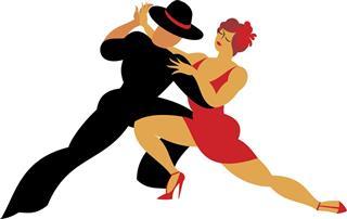 Lambada dance style